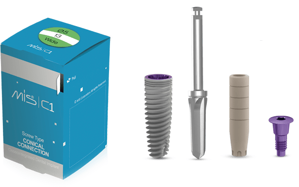 Kompletny pakiet – Implant C1